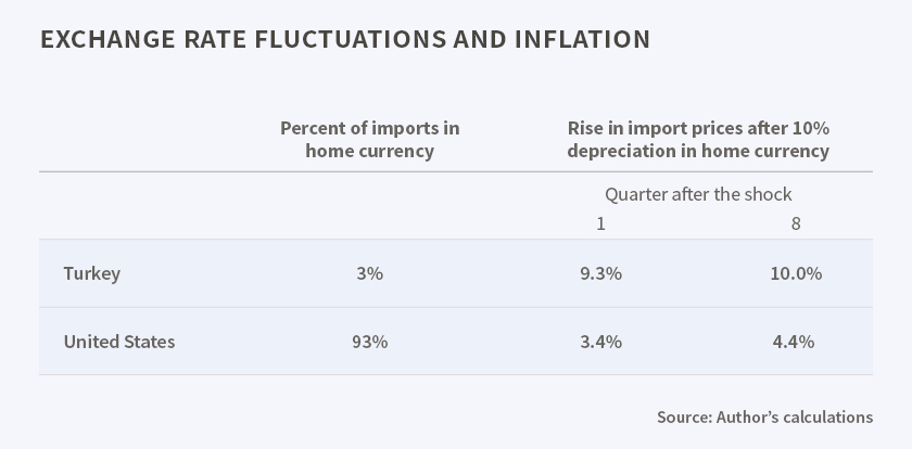 Exchange Rate Effects On Inflation
